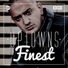 Uptowns Finest Podcast w/ Haftbefehl, 2 Chainz, Flatbush Zombies, SSIO, Angel Haze, Bun B, Meek Mill, Nate57 & more...