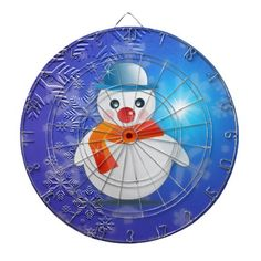 Magical #Christmas Snowman Dartboards