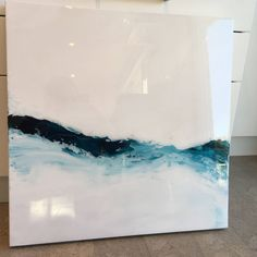 A personal favorite from my Etsy shop https://www.etsy.com/ca/listing/568402965/blue-wave-resin-painting