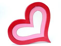Happy Valentine's Day! Red Heart Puzzle  by @berkshirebowls on Etsy ($34.99)