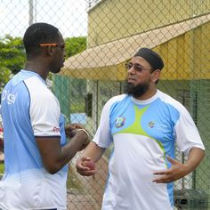 """""""We are working to improve the spin bowling reserves and I have seen a number of young players and a few that have played already for West Indies... There is a lot potential and there are all very talented and there is a lot of passion about the game – and my role is to make them more technically sound and tactically aware."""" Saqlain Mushtaq."""