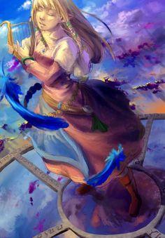 Zelda from Skyward Sword, via Zombeh-Sakana
