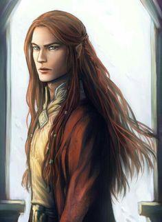 Male Elf Noble - Pathfinder PFRPG DND D&D d20 fantasy