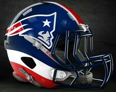 nfl concept helmets - New England Patriots Football Helmet Design, College Football Helmets, Football Uniforms, Sports Helmet, Nfl Football, American Football, Football Things, Football Season, Patriots Team