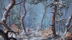 Snow Forest by Max Suleimanov