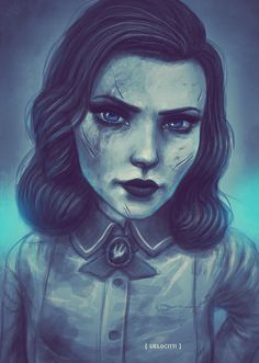 Burial at Sea by velocitti #Bioshock #Infinite #Elizabeth #Gaming