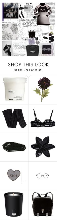 """♡ In a mirrored world, are you beside me all my life?"" by spriingy ❤ liked on Polyvore featuring Davines, Pier 1 Imports, H&M, Zephyr, La Perla, ASOS, Chanel, Pantone and Proenza Schouler"