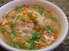 """Lemon Grass Chicken Soup. My friend calls this her """"cure-all"""" soup when her family is sick."""