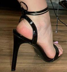 Only Stiletto Sandals Stilettos, Strappy High Heels, Hot High Heels, Ankle Strap Heels, Stiletto Heels, Strappy Sandals, Feet Soles, Women's Feet, Beautiful Toes