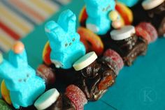 Easter Party Food Ideas - Easter Bunny Racers