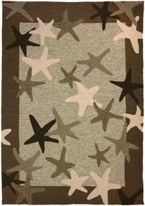 Starfish Field 5 x 7 Indoor-Outdoor Area Rug
