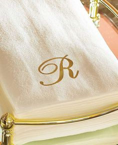 Impress your guests while giving their stay a personal touch with the Monogrammed Guest Towels; absorbent, strong and disposable for convenience.