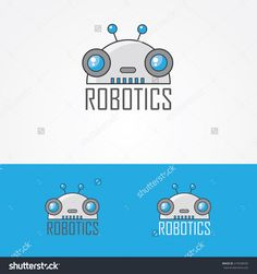 robot logo designs - Google Search