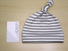 Charcoal Gray Stripe Newborn Hat/ Baby Hat/ Organic Cotton Hat/ Baby Knotted Hat/ Boy Knotted Cap/ Organic Baby Hat/ Newborn Infant Hat by LittleHighbury on Etsy https://www.etsy.com/listing/200461312/charcoal-gray-stripe-newborn-hat-baby
