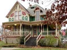 Gorgeous detailed Victorian home