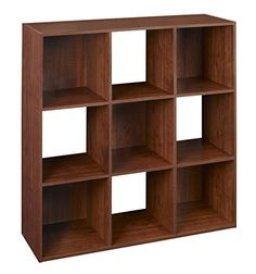 9 Cube Organizer Cubeicals Open Storage Bin Shelf Compartment Modern Minimal Style Decorative Bookcase Shelving Unit Ideal for Home Livng Room Office & e-Book by jn. Storage Bin Shelves, Shelving, Cube Shelves, Storage Cabinets, Shelf, Cubes, Livng Room, Fabric Drawers, Cube Bookcase