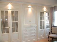 16 Ideas For Bedroom Wardrobe Wall Dressers Bedroom Built Ins, Closet Built Ins, Master Bedroom Closet, Master Bedrooms, Dream Bedroom, Shabby Chic Interiors, Shabby Chic Bedrooms, Trendy Bedroom, Wardrobe Wall