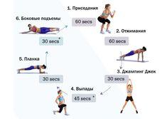 Программа для занятия в фитнес-зале для девушек