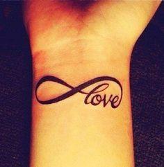 Infinity Love Henna Design