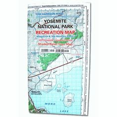 Yosemite Parks And Recreation, California, Map, Location Map, Maps