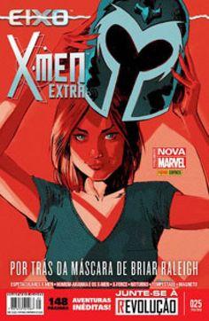 LIGA HQ - COMIC SHOP X-MEN EXTRA (MARVEL NOW) #25 PARA OS NOSSOS HERÓIS NÃO HÁ DISTÂNCIA!!!