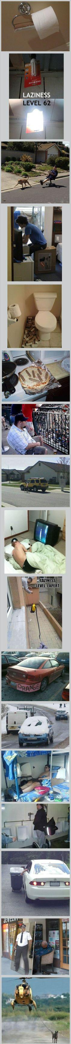 Pure Laziness
