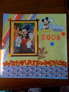 Disney World - Scrapbook.com