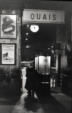 Henri Cartier-Bresson, Quais, Paris, 1959.