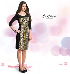 Snake print dress. #fallfashion #musthave #Cartise #women #apparel #coloryourlife www.cartise.ca