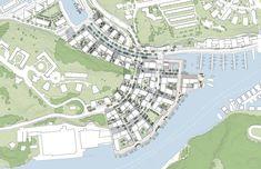 Kjellander + Sjöberg Architects - Hästholmssundet Context map