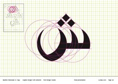 Arabic font design by Nardine Shenouda