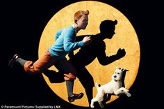 'Tintin's dog Snowy is as human as some of the characters in the movie. He really comes to the rescue and he's one of the superheroes of the entire Tintin series,' said Steven