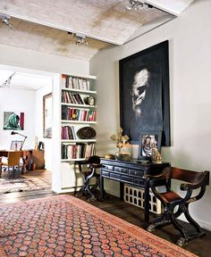 Eclectic Home In Spain