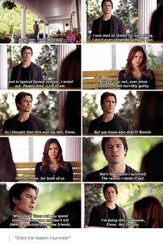 Season 6 Episode 9: Damon and Elena
