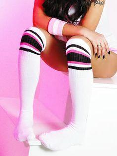 Knee High Gym Socks