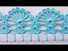 Crochet Edging Patterns, Crochet Borders, Bead Loom Patterns, Crochet Motif, Crochet Doilies, Crochet Stitches, Knitting Patterns, Crochet Edgings, Cross Stitches