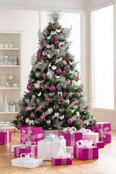 6ft/180cm Camellia Pine with Glitter Tips