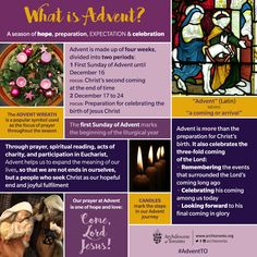 #Advent is the season of hope, preparation, expectation and celebration…