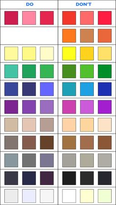 welche Farben passen zum Sommertyp und welche nicht which colors are suitable for the summer type and which are not