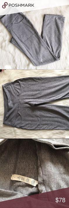 "Lululemon grey City Practice Pants ✨ Excellent condition, size 6. Waist across 13"" Waist down 40"" Hip across 16"" Inseam 30.5 lululemon athletica Pants"