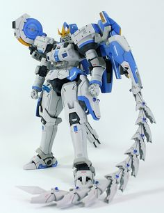 Painted Build: MG 1/100 Tallgeese III - Gundam Kits Collection News and Reviews