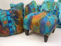 The felted living room - jean gauger - Picasa Web Albums