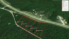 Level building lots from 4-5 acres on PP Hwy just off 60 West, only minutes from Poplar Bluff,MO. Beautiful wooded tracts. Situated amongst several hundred acres of US Govt ground.