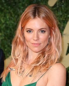 sienna and her rose gold locks