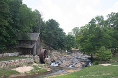 Sixes Gristmill in Woodstock, Georgia is one of the earliest settlements in North Georgia.  The mill was rebuilt between 1878 and 1880.