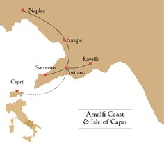 Amalfi Coast & the I