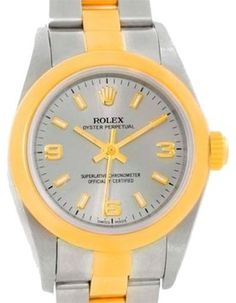 Rolex Nondate Stainless Steel 18k Yellow Gold Watch Ladies 76183. Get the lowest price on Rolex Nondate Stainless Steel 18k Yellow Gold Watch Ladies 76183 and other fabulous designer clothing and accessories! Shop Tradesy now