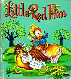 """Little Red Hen"" children's book"