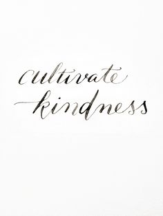Cultivate Kindness | one random act of kindness a day can make a difference in someone's life.