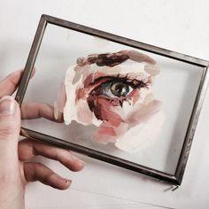Imagen de art, eye, and painting